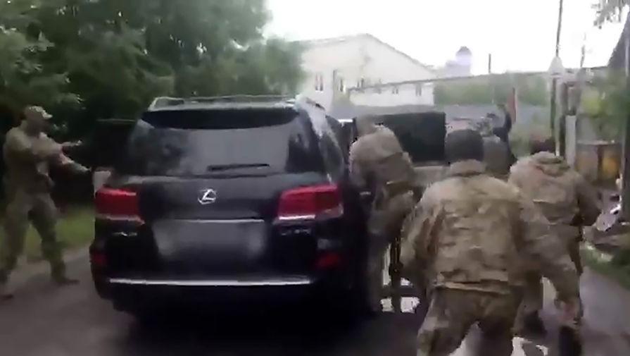Во время задержание губернатора Хабаровского края Сергея Фургала, 9 июля 2020 года
