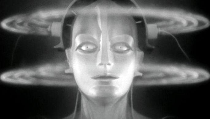 Кадр из фильма «Метрополис» (1927)