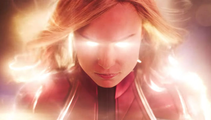 Кадр из фильма «Капитан Марвел» (2019)