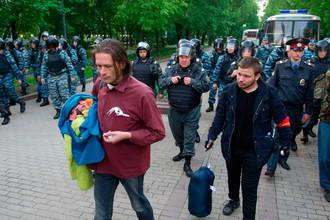 Разгоняемые полицией акции на московских бульварах совершенно не похожи на бунт