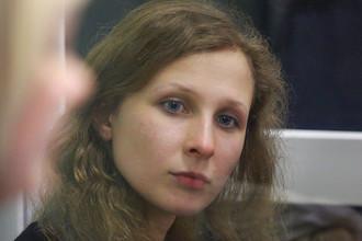 Суд снял взыскания с заключенной активистки Pussy Riot Марии Алехиной