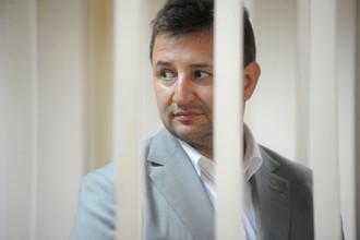 Владимир Голубков в зале заседаний Пресненского суда
