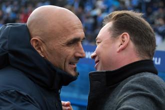 Лучано Спаллетти постарается ответить Леониду Слуцкому за поражение в Суперкубке