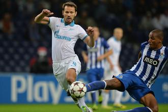 «Зениту» необходимо обыгрывать «Порту» в ответном матче