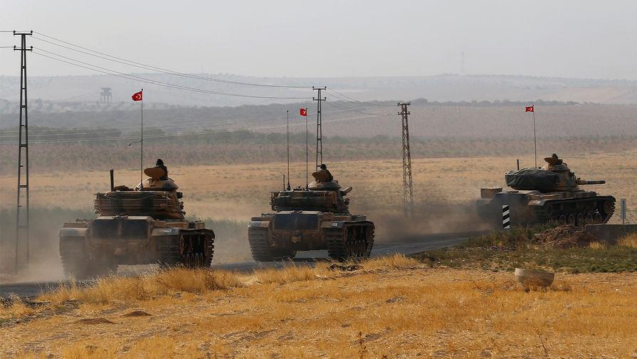 Сирийские ВВС обстреляли турецкий конвой, сообщают СМИ