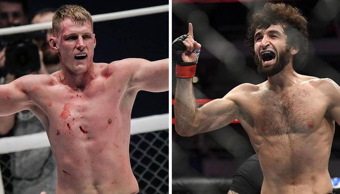 UFC возвращается в Россию: с кем будут биться Забит и Волков