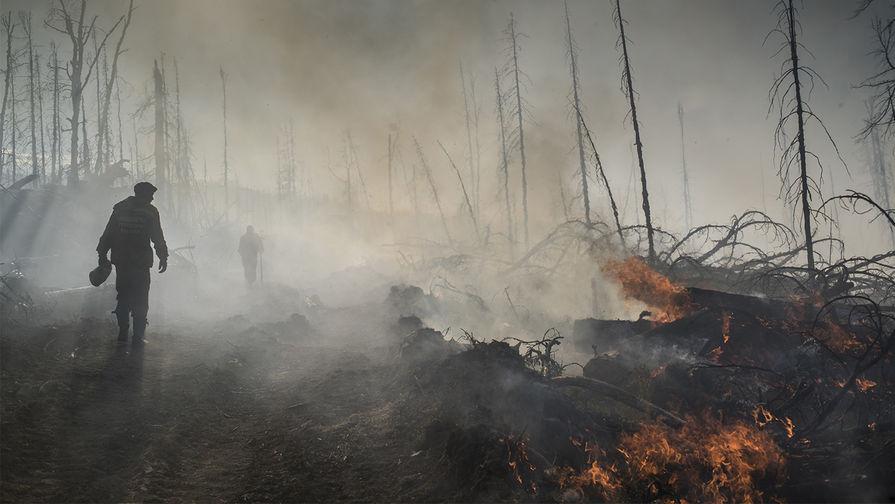 17 человек пострадали при пожарах в Забайкалье