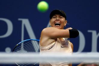 Российская теннисистка Мария Шарапова на US Open