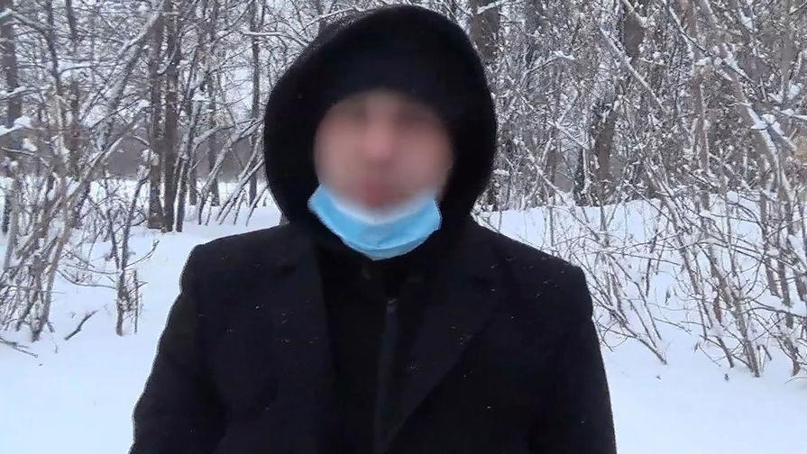 Гражданин России, 1995 года рождения, подозреваемый в подготовке вооруженного нападения на сотрудников правоохранительных органов, после задержания в результате спецоперации сотрудников ФСБ России