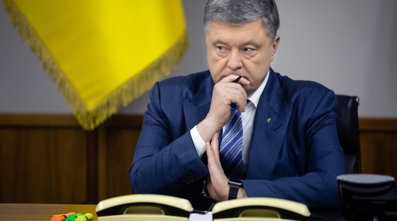 Информация о Порошенко исчезла с сайта президента Украины