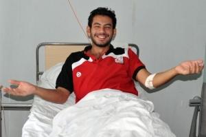 Египетский гросмейстер в больнице