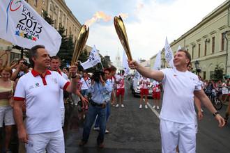 Виталий Мутко очень внимательно следит за выступлениями россиян на Универсиаде