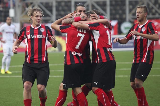 «Амкар» забил два безответных