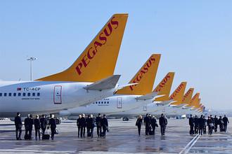 Турецкий дискаунтер Pegasus Airlines начал полеты из Москвы в Стамбул