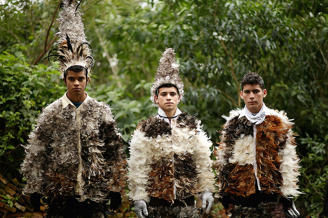 Фестиваль перьев в Парагвае