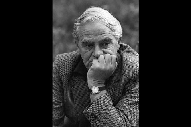 Писатель Даниил Гранин, 1987 год