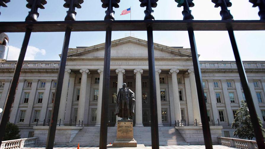Здание Министерства финансов США в Вашингтоне, 2011 год