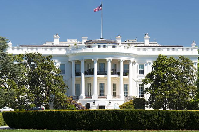 Белый дом в Вашингтоне — резиденция президента США