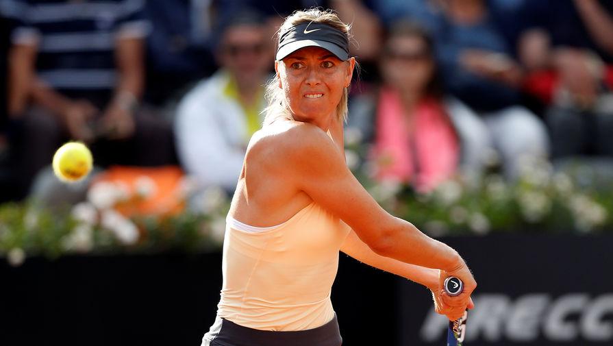 Шарапова вышла в четвертьфинал турнира в Риме