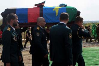 Церемония похорон главы ДНР Александра Захарченко в Донецке
