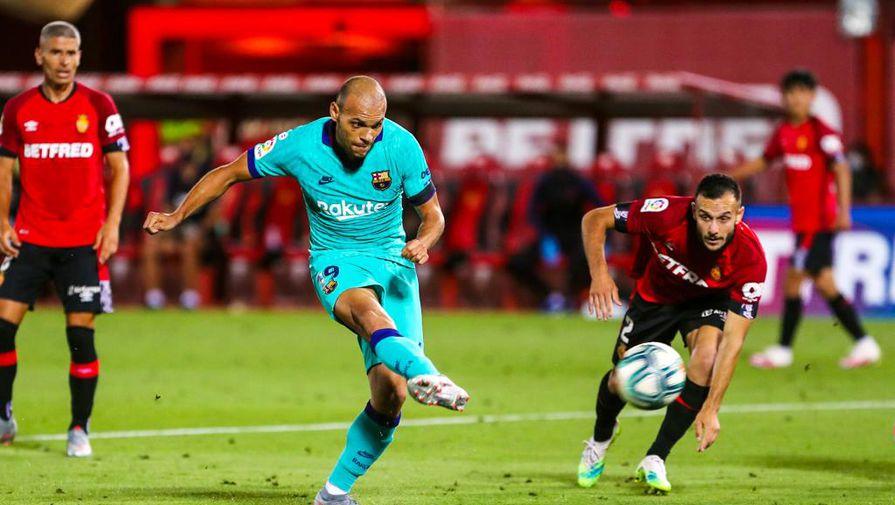 Первый гол Мартина Брэйтуэйта за «Барселону»