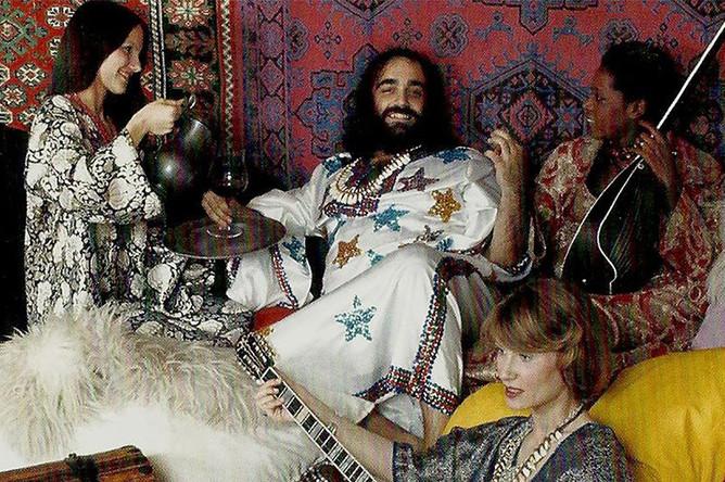 В 1963 году Демис Руссос вместе с Вангелисом и Лукасом Сидерасом создали группу Aphrodite's Child. В 1968 году, после военного переворота в Греции, группа перебралась в Париж, где добилась успеха благодаря песне «Rain & Tears»