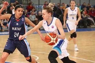 Женский баскетбольный клуб «Енисей» выбыл из розыгрыша Кубка Европы