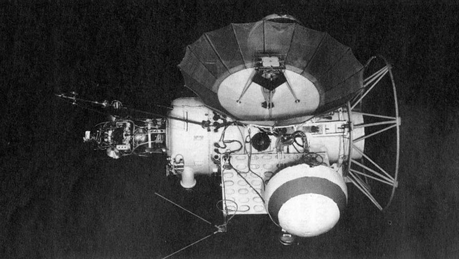 Макет аппарата «Марс-1»