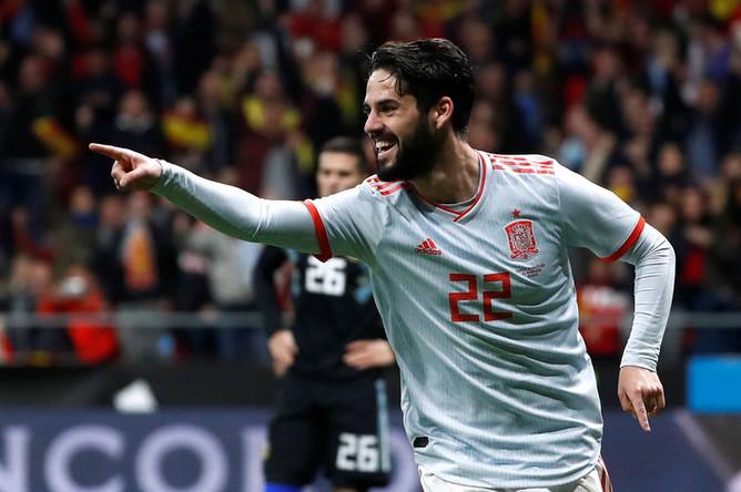 Иско является ключевой фигурой в нынешней сборной Испании