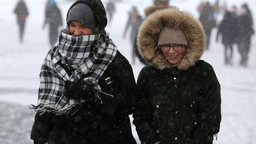 В Москве во вторник ожидается до -14С и гололедица