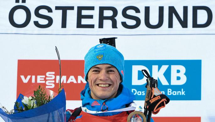 Антон Бабиков одержал первую в карьере победу на этапе Кубка мира