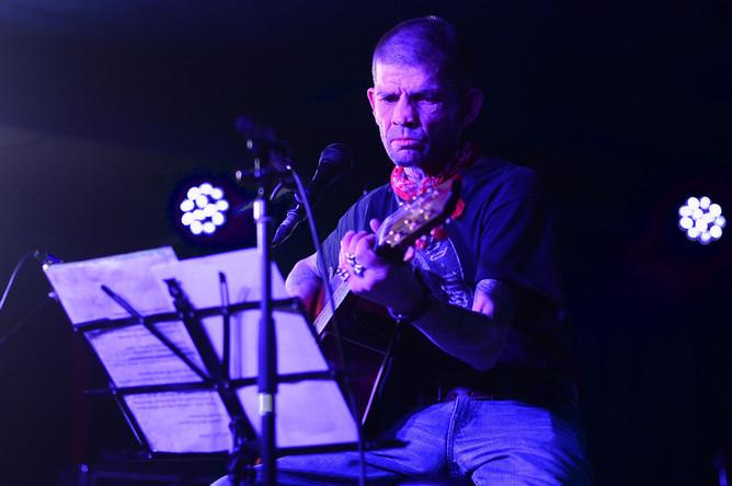 Костя Ступин на концерте в Москве, 12 марта 2017 года