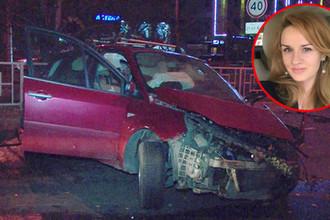 Фотография с места происшествия и снимок из инстаграма погибшей девушки