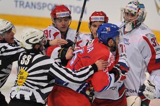 Российские хоккеисты не смогли обыграть чехов