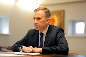 Глава латвийского Центробанка Илмар Римшевич