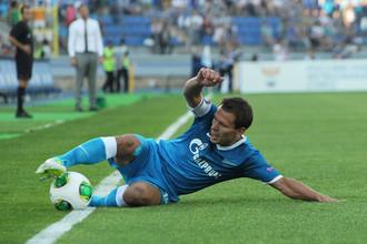 Константин Зырянов упустил мяч в аут