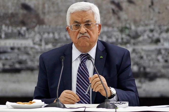 Председатель движения ФАХТ Махмуд Аббас