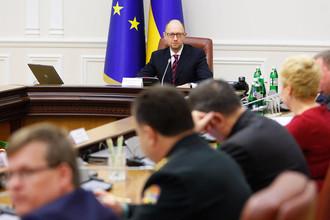 Первое заседание нового кабинета министров в Киеве