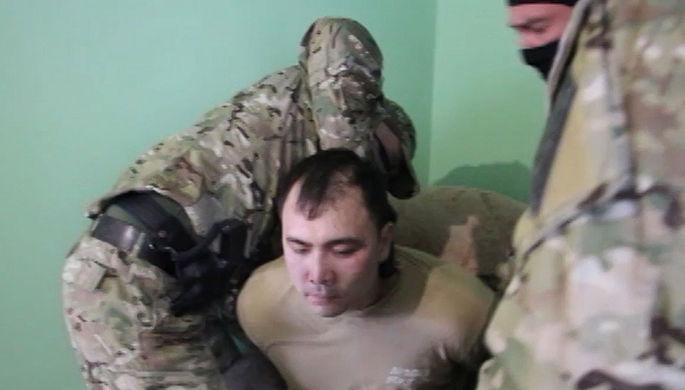 Военнослужащий Южного военного округа, задержанный по подозрению в государственной измене