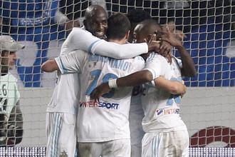 Футболисты «Марселя» разгромили ПСЖ