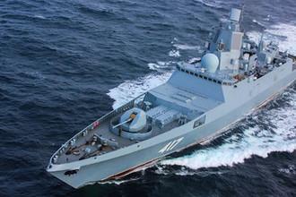 Фрегат «Адмирал флота Советского Союза Горшков», 2018 год