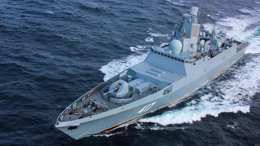 США отслеживают перемещения российского «Адмирала Горшкова»