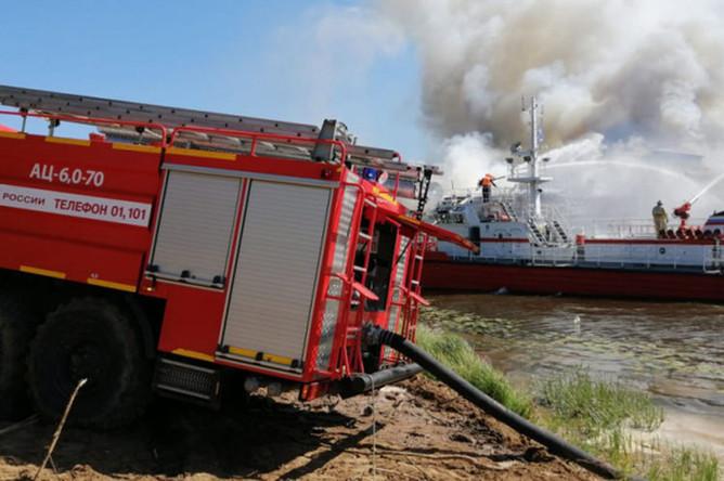 Пожар на теплоходе «Святая Русь» в Нижегородской области, 13 августа 2019 года