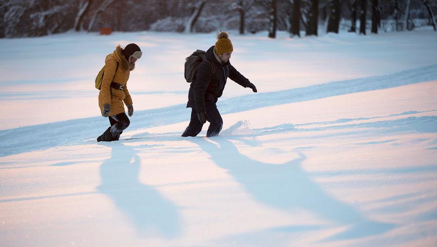 24 города США установили рекорды по холоду