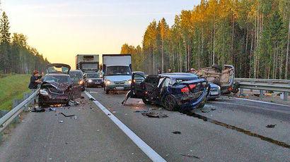 В Ленинградской области футболист «Динамо» устроил пьяную аварию с двумя погибшими