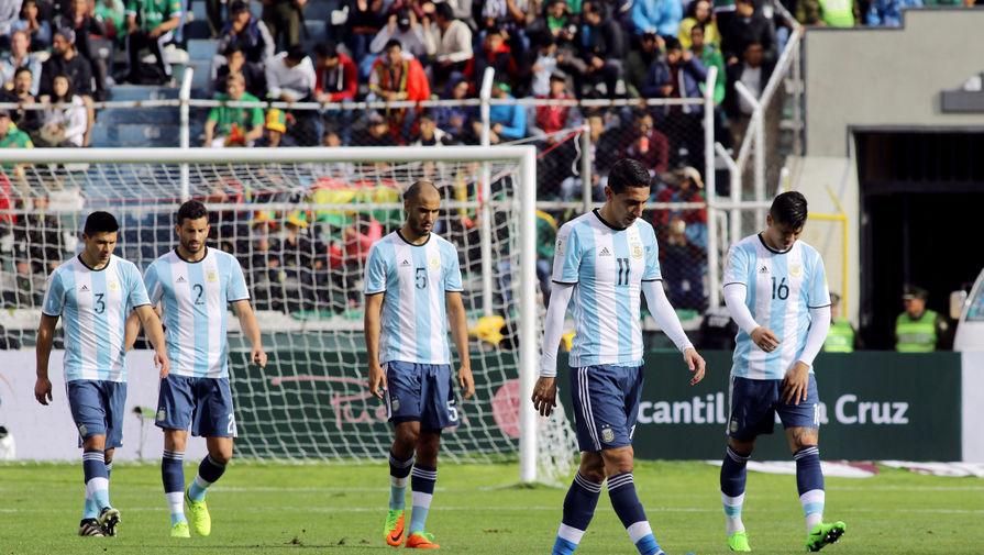 Сборная Аргентины проиграла без Лионеля Месси в Боливии и опустилась на пятую строчку турнирной...