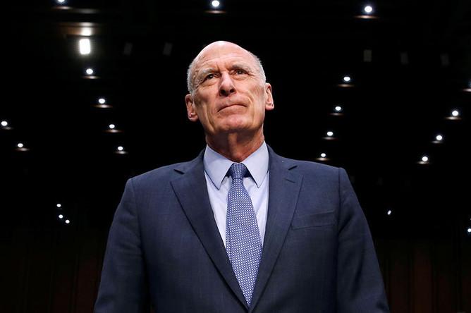 Директор Национальной разведки Дэн Коутс в Вашингтоне, март 2018 года
