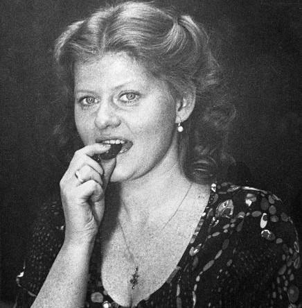 Ирина Муравьева в роли Марины на съемках фильма «Охота на лис» режиссера Вадима Абдрашитова, 1980 год