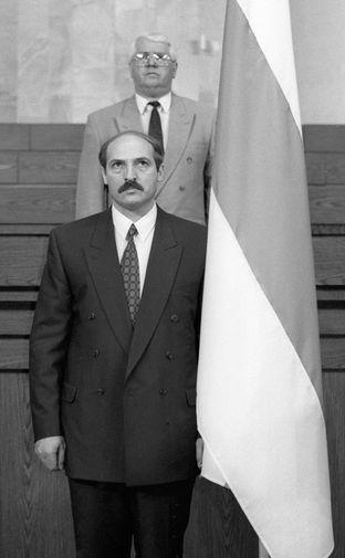 Путин поздравил Лукашенко с 65-летием