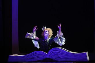 Сцена из оперы Мориса Равеля «Дитя и волшебство» в Большом театре